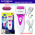 Red waterproof charging pedicure electric tools Foot Care Exfoliating Foot Care Tool and roller pedicure heads scholls KIMISKY