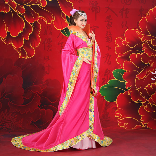 2018 hanfu ancient chinese costume  women's  hanfu dress cosplay clothing traditional women ancient chinese costume