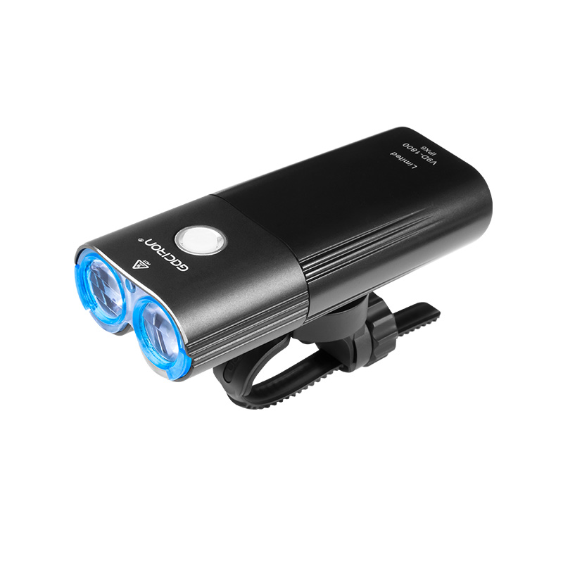Gaciron 1800 люмен велосипедный головной светильник велосипедный передний светильник 6700 мАч перезаряжаемый внешний аккумулятор водонепроницае... - 3
