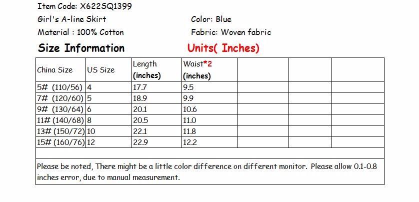 X622SQ1399 INCH