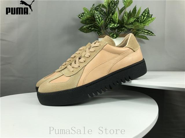 super popular bbc4a a1871 US $79.4 17% OFF|PUMA X XO Terrains Retro Men And Women Badminton Shoes  Unisex Sneaker Leather Suede 368211 02 Serrated Soles Shoes EUR36 44-in ...