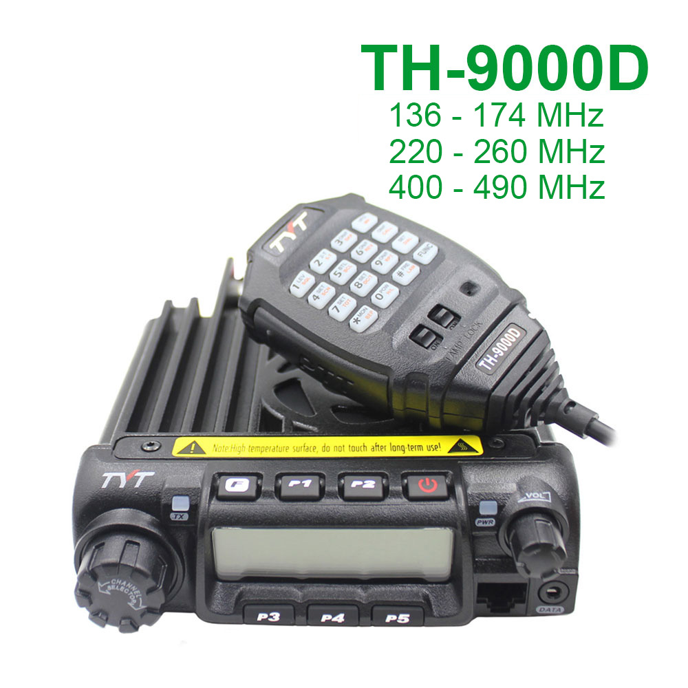 TYT Walkie-Talkie Mobile-Radio TH-9000D Selectable 200CH 60W Latest-Version Super-Power
