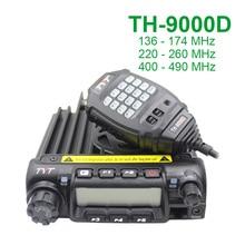 Najnowsza wersja TYT TH 9000D mobilne Radio 200CH 60W Super moc wysoka/średnia/niska moc do wyboru Walkie Talkie