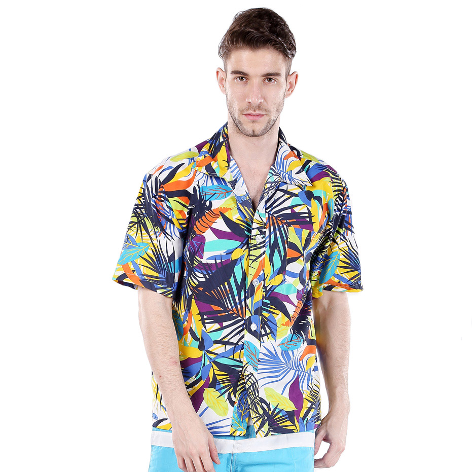Hawaiian Shirts For Men Home › Hawaiian Shirts For Men Original Hawaiian Aloha apparel first appeared in the 's, using colorful, unique and exotic fabrics offered by the merchants of the far east.