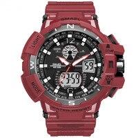 SMAEL Brand Men Dual Display Watches Montre Digital Electronic Quartz Watches Men Reloj Hombre Military Sports