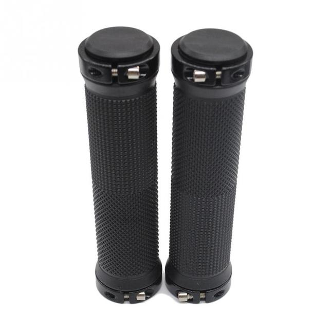1 pair High quality Bike Bicycle Handlebar Cover Grips Smooth Soft Rubber Handlebar handlebar cover handle bar end 1