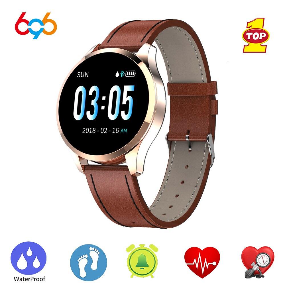 Q9 Mensagem de lembrete de chamada Smartwatch Relógio Inteligente À Prova D' Água Rastreador De Fitness monitor de Freqüência Cardíaca homens Moda pk Q8 Q1