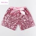 Детские девушки блесток шорты мальчиков bling шорты дети короткие брюки, пригодный для 1-6 лет блесток шорты этап