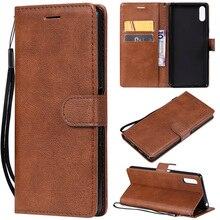 Leather Flip Wallet Case For Sony Z5 Z3 Mnin XZ4 XZ3 XZ2 XZ1 XZ Compact Premium XA3 XA2 XA XA1 Ultra L3 L2 L1 E5 E6 Cover Case pu leather phone case for sony xperia xa xa1 xa2 ultra wallet flip case for sony xperia xz xz1 xz2 mini l1 l2 z3 z5 phone cover