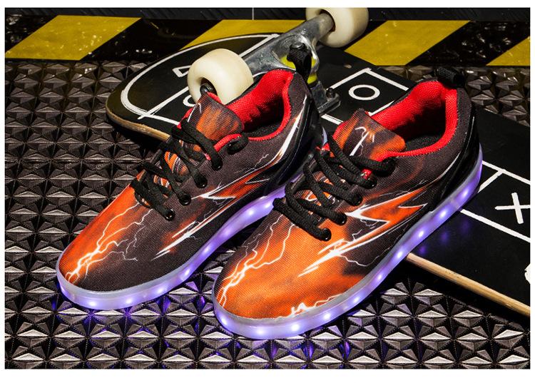 Led Sneakers Lightning 8