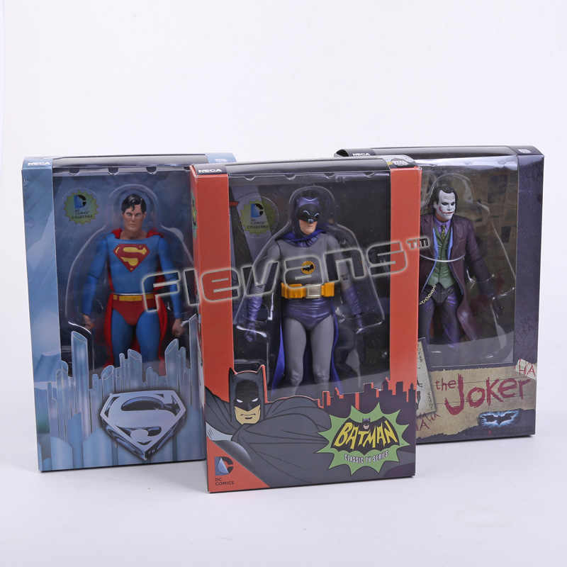 "NECA DC Comics Batman Superman De Joker PVC Action Figure Collectible Toy 7 ""18 cm 3 Stijlen"