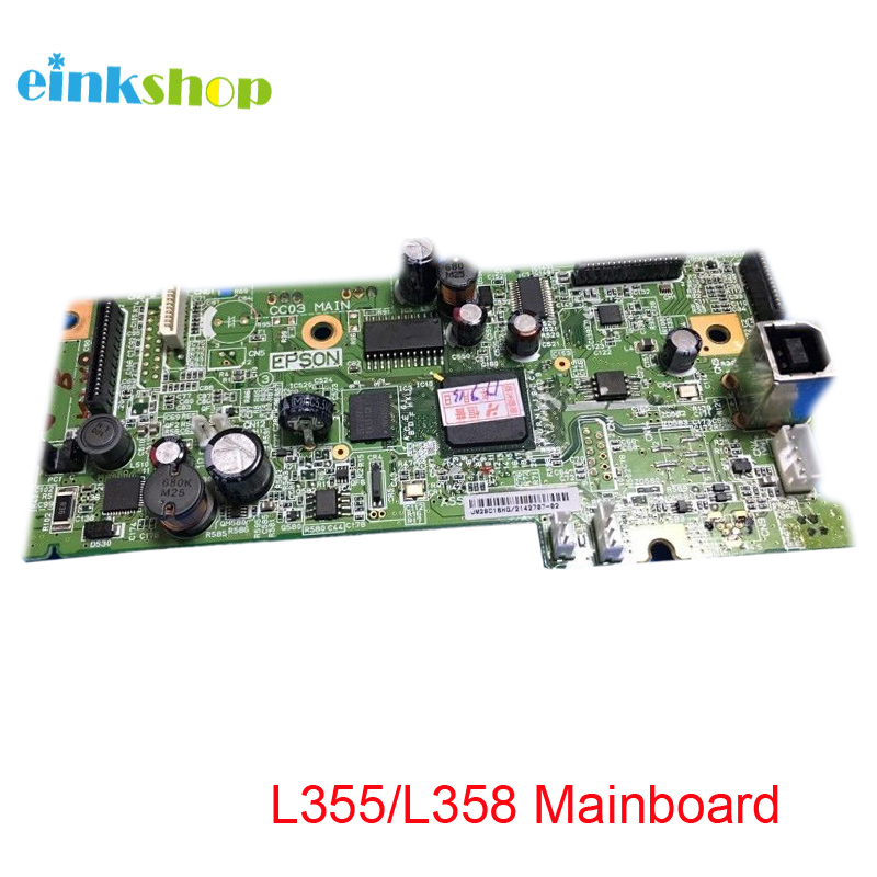 Used Formatter PCA ASSY Formatter Board  2158970 2155277 Main Board MainBoard mother board for Epson L355 L358 355 358 Printer