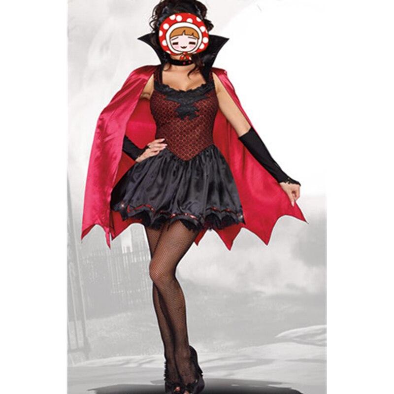 Hot Gothic Sexy Costume Halloween Dress Costume Sexy Vampire Costume Zombie Women Masquerade Party Halloween Cosplay