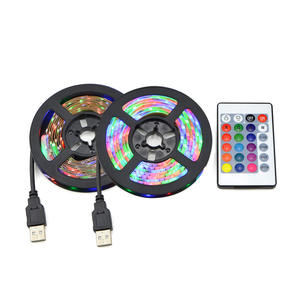 2835 50 cm 1 2 3 4 5 m Light Lighting with IR control For Desktop PC Lamp Tape