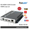 Best HD 1080P HDMI encoder to IP with HDMI loop output,audio input,HDMI to h 264 encoder for live stream on facebook, youtube