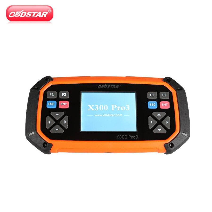 OBDSTAR X300 PRO3 maître de clé X300 PRO3 maître de clé avec immobilisateur + réglage odomètre + EEPROM/PIC + OBDII