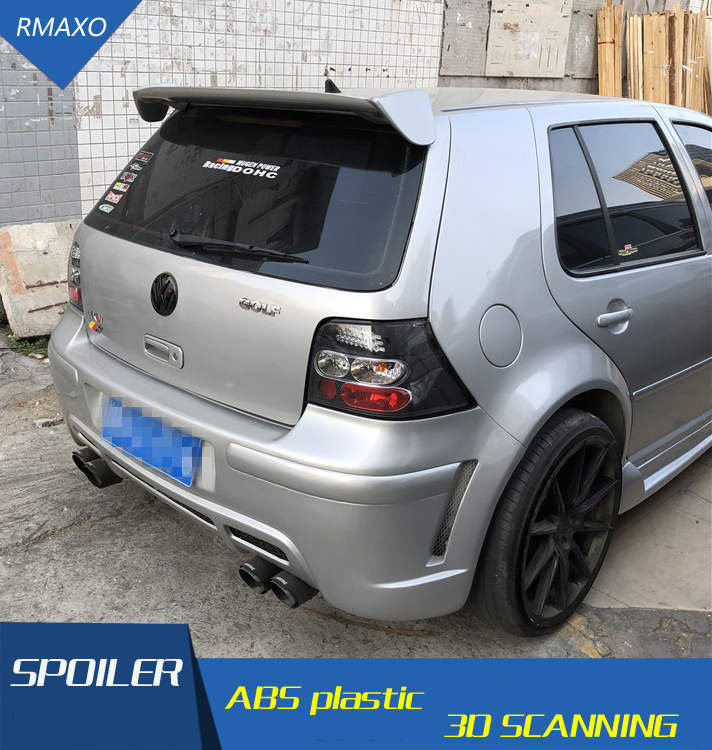 for volkswagen golf 4 spoiler abs material unpaint primer. Black Bedroom Furniture Sets. Home Design Ideas