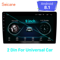 Seicane Universal for hyundai suzkia vw toyota honda kia nissan 9 inch Android 8.1 2Din GPS Navi Car Head unit Player wifi 3G