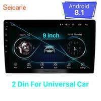 Seicane Universal para hyundai suzkia vw toyota honda kia nissan 9 polegada Android 8.1 2Din Navi GPS unidade de Cabeça Do Carro jogador wi-fi 3G