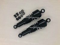 Universal 10 5 INCH 267mm SHOCK ABSORBERS Motorcycle Rear Suspension For HARLEY DAVIDSON SPORTSTER Black