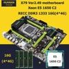 HUANAN X79 LGA 2011 Motherboard CPU RAM Combos Intel Xeon E5 1650 C2 CPU RAM 16G