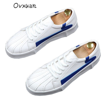 Ovxuan Summer Loafers Men Flats Shell Toe Stripe Design Moccasins Casual Party and Prom Dress Handmade Loafers Men Shoes