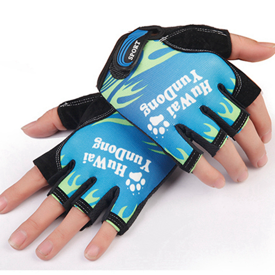 Half Finger Men Pu Durable Anti-Slip Anti-Cut Pesca Pesca Deportiva - Pescando
