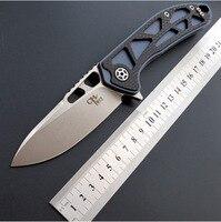 CH3509 D2 Folding knife TC4 Carbon fiber handle ball bearing outdoor camping hunting Survival EDC pocket tool bushcraft knives
