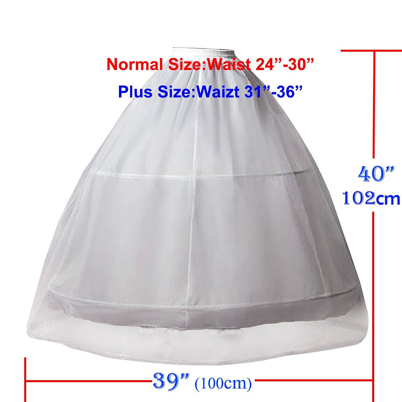 Petticoat Νυφική Κρινελίνη για - Αξεσουάρ γάμου - Φωτογραφία 4