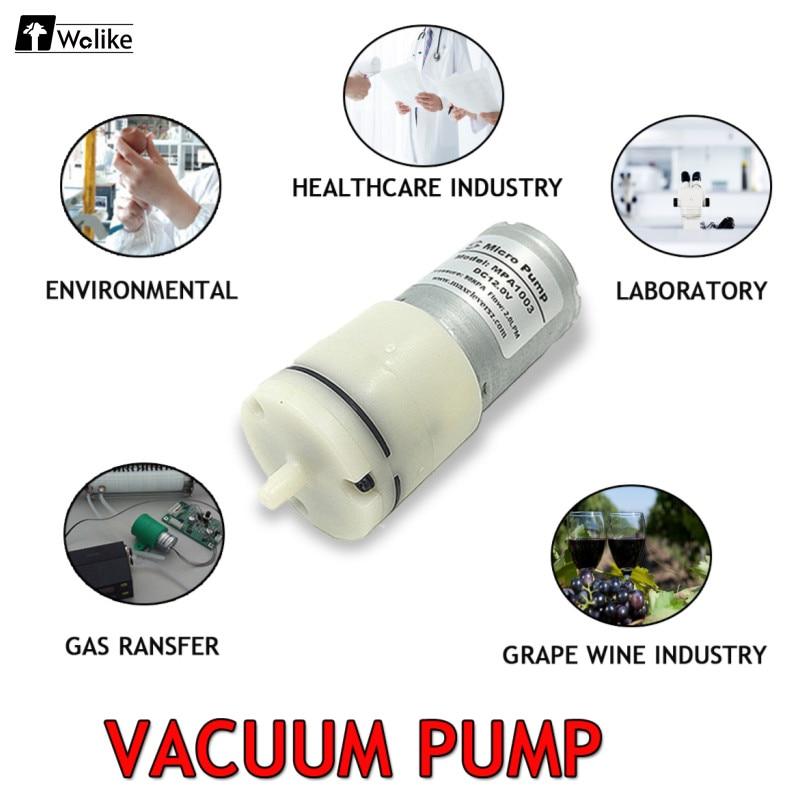 1 Stücke Motor Miniatur Pumpe Mini Membran Aufblasbare Pumpe Dc 3-24 V 2l/min 70kpa Elektrische Micro Vakuum Luftpumpe Mpa1003 SorgfäLtige Berechnung Und Strikte Budgetierung Heimwerker