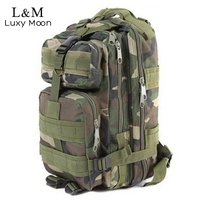 Men Camouflage Backpack Military Tacical Assault Backpacks Outdoor Sports Travel Hiking Climbing Bag Large Capacity Bags