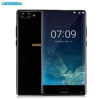 Doogee מיקס 5.5 ''לוח פחות 16MP אנדרואיד טלפון חכם 6 GB + 64 GB 4 גרם 7.0 Helio P25 אוקטה Core 2 אחורי מצלמת טלפון סלולרי טביעת אצבע מתכת