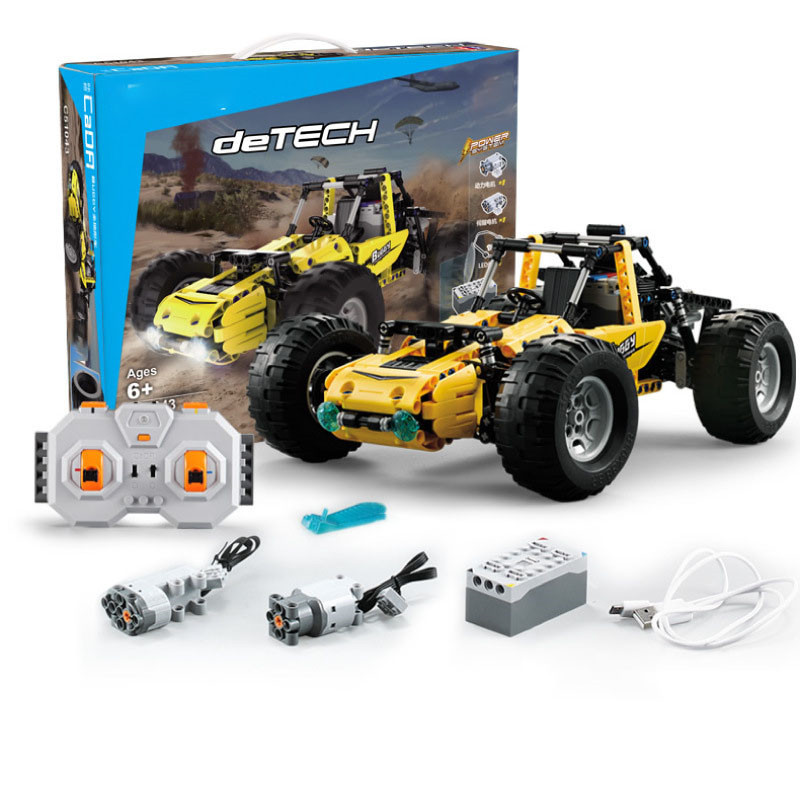 522Pcs 2.4Ghz Technic City RC All Terrain Off-Road Climbing Trucks Car Off-Road Racing Building Blocks Bricks Toys Gifts Kids
