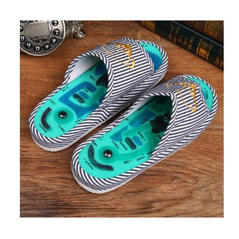 ФОТО d003 good shoe  Massage slipp shoes/Foot massage health point massage to walk more healthy/Men and women slippers