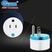 Home Automation Z Wave Plus Sensor Smart Home Power Plug Socket US Power Outlet Adapter Compatible