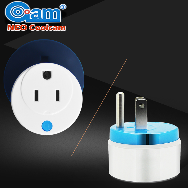 Home Automation Z wave Plus Sensor Smart Home Power Plug Socket US Power outlet Adapter Compatible Z-wave 300 and 500 series z wave plus gas water auto valve smart home automation controller work with water leak sensor alarm gas leakage sensor