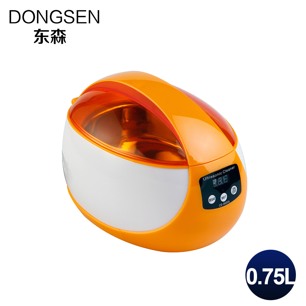 Digital Ultrasonic Cleaner 750ML Fruit Jewelry Watch Glasses Denture Shaver CD Ultrasound Automatic Timer Washing Tank 0.75L 0 75l 50w household digital ultrasonic cleaner bath fruit glasses cd jewelry denture watch shaver head ultrasound timer tank