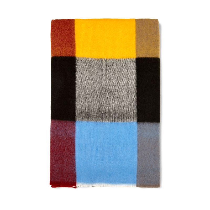 POBING Brand New za Winter   Scarf   Women Tartan Plaid Cashmere   Scarves     Wraps   Wram Shawls Female Pashmina Lady Blanket Stoles
