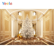 Yeele Wallpaper Christmas Party Room Decor Tree Photography Backdrops Personalized Photographic Backgrounds For Photo Studio