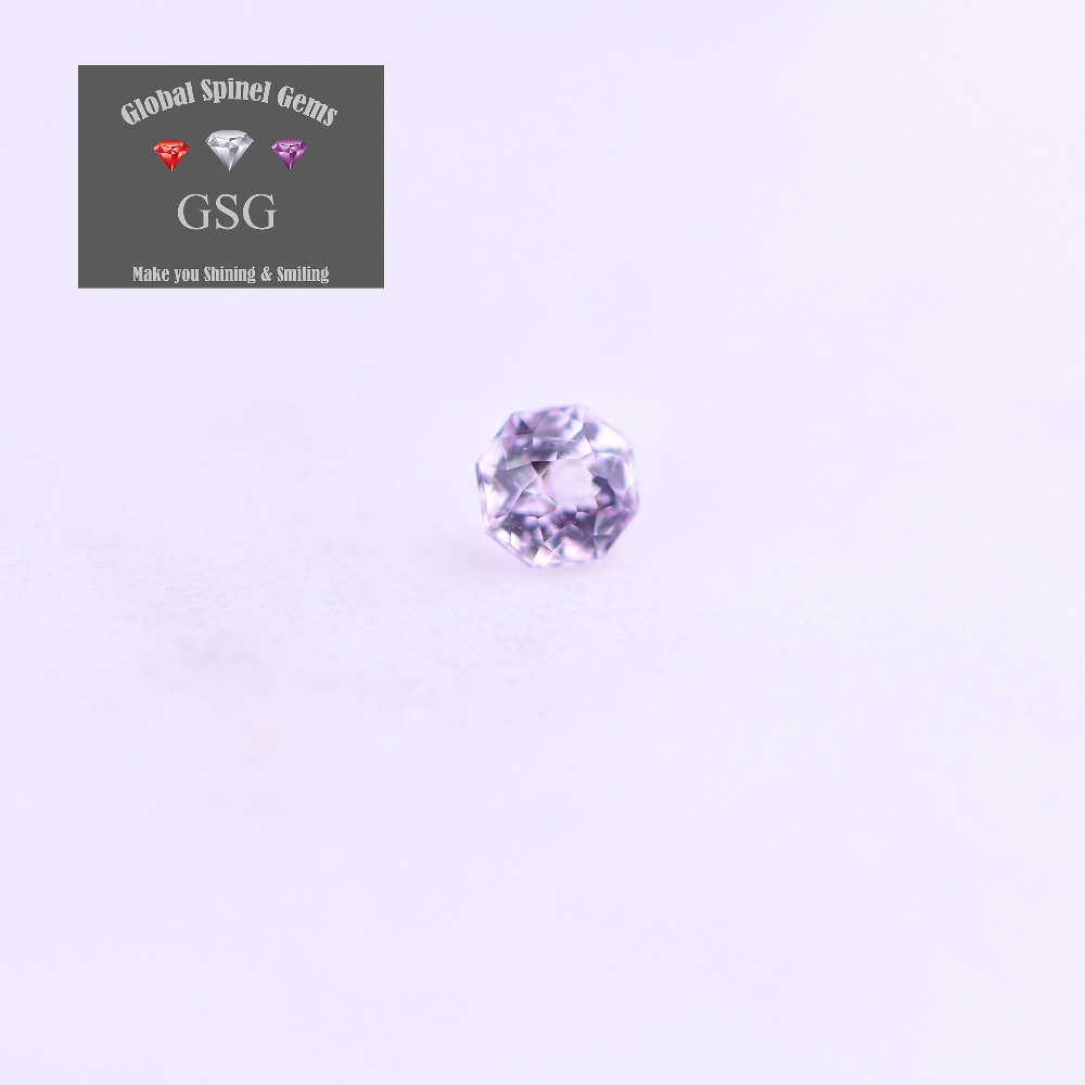 100% Natural Spinel gemstone 0.27ct 3.5x3.5x2.7mm for jewelry directly sends to your hand from GSG Thailand cutting factory