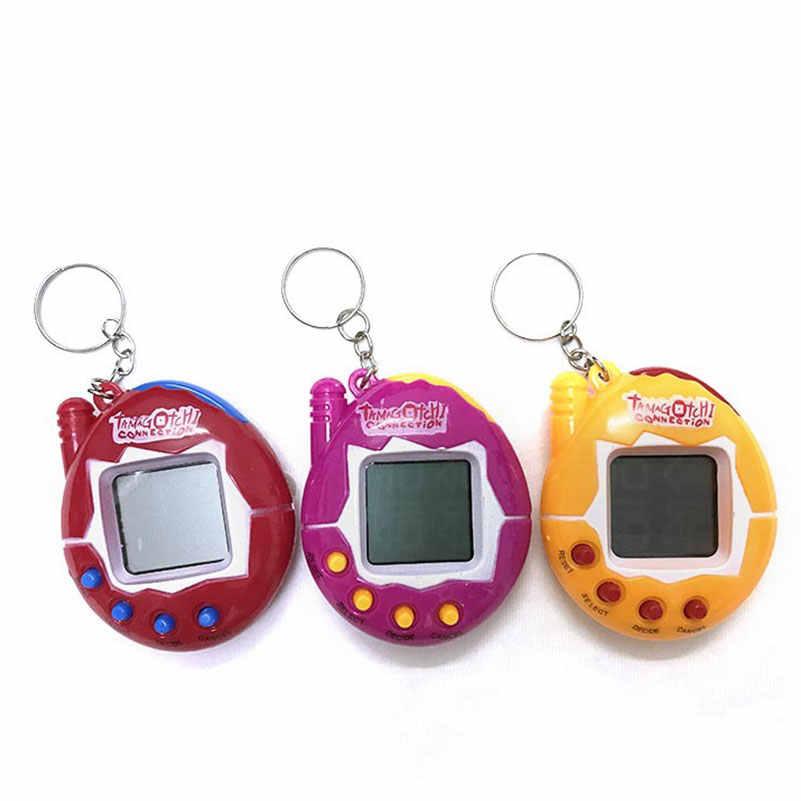 Elektronische Huisdieren Speelgoed 90 S Nostalgische 49 Huisdieren in Een Virtuele Cyber Huisdier Speelgoed Grappige Tamagochi Elektronische Huisdieren Sleutelhangers Speelgoed voor Kind