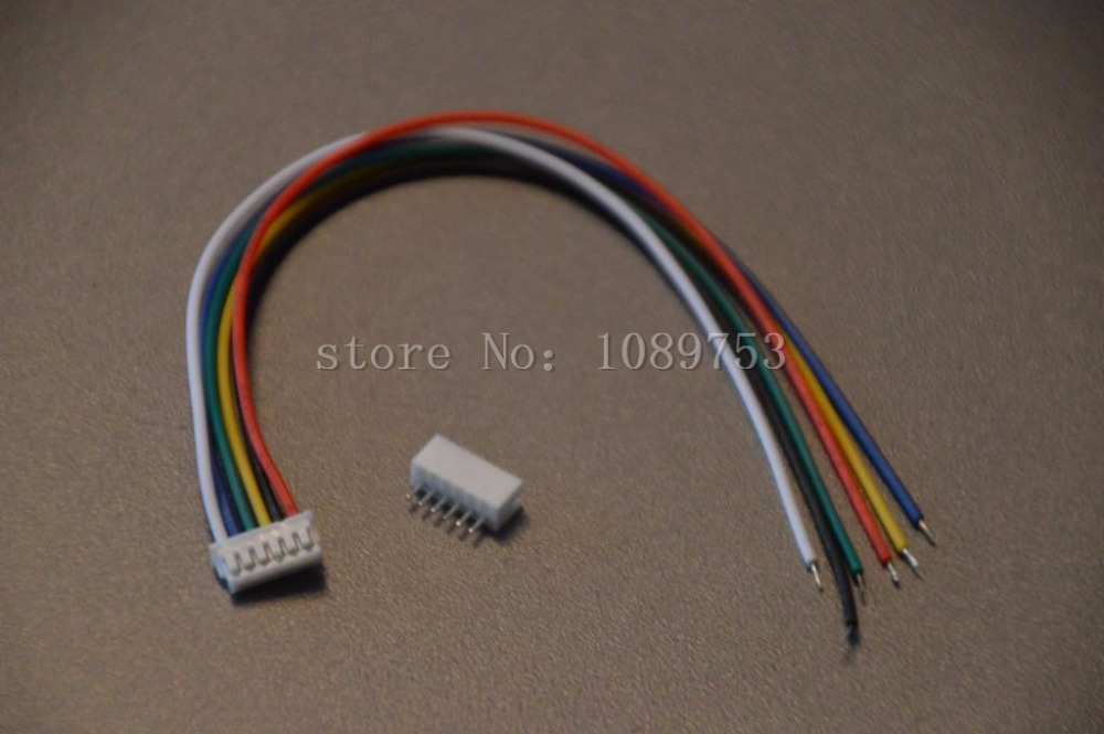 20 Sets JST ZH 1.5mm 6-Pin Female Connector Plug with Wire 10cm/15cm/20cm and Male Connector mini micro jst 2 0mm t 1 6 pin connector w wire x 10 sets 6pin 2 0mm