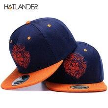 Alta qualidade cara do leão bordado boné snapback rei legal hip hop chapéu  para meninos e 64f17807032
