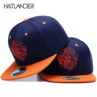 Di alta qualità lion faccia protezione di snapback del ricamo fresco re hip hop cappello per i ragazzi e le ragazze