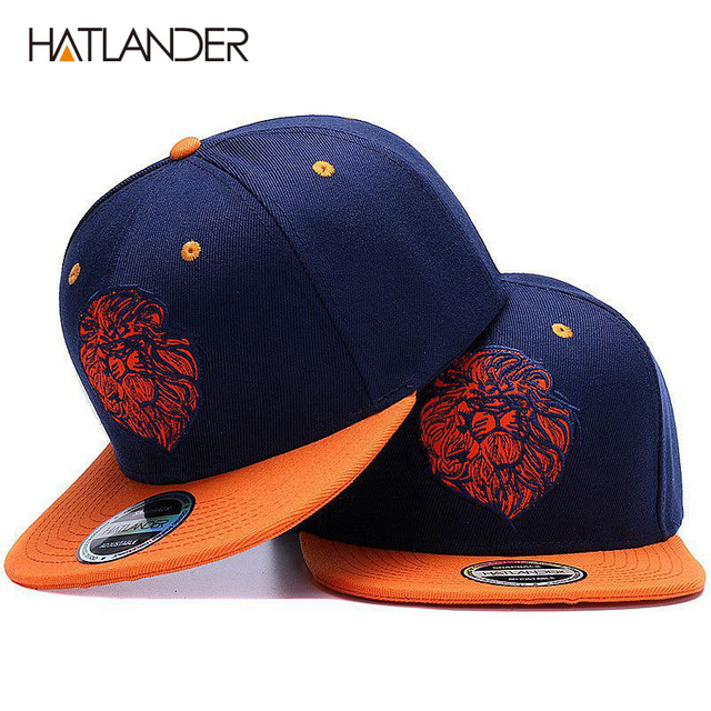High quality lion face embroidery snapback cap cool king hip hop hat for  boys and girls d0747ef1455