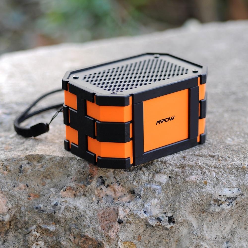 $26.59 Updated Mpow Armor Waterproof wireless Bluetooth Speaker Passive Outdoor Loudspeakers MP3 Speakers Power Bank for iPhone Xiaomi