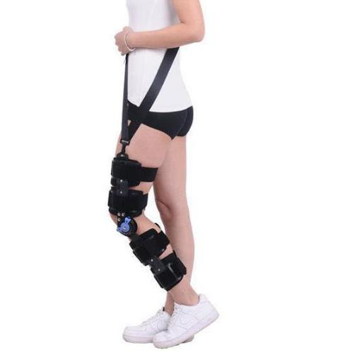 Knee Brace With Cool Postoperative fixation Of Genual Fracture Knee Joint Adjustable Medical Hinged Support Ligament Strain