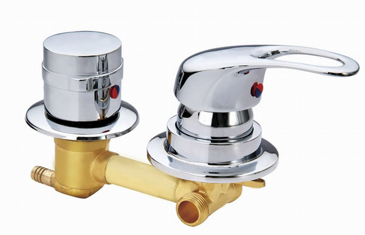 how to clean a mixing shower valve