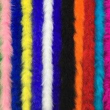 2 метра/длина маленькое пушистое перо Супер Качество Марабу перо хорошо подходит для вечерние/костюмы/шаль/Косплей перо