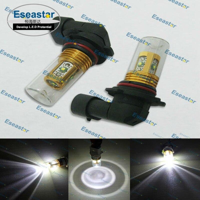 2 pcs/lot eseastar free shipping 25W C..e XPE LED high power,9145 led light,PY20D car fog lamp,H10 led fog .